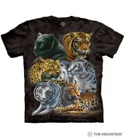 Big Cats - Adult Big Cat T-shirt - The Mountain® | Tam's Treasures